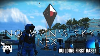 No Man's Sky NEXT - Making My First Base - Part 3