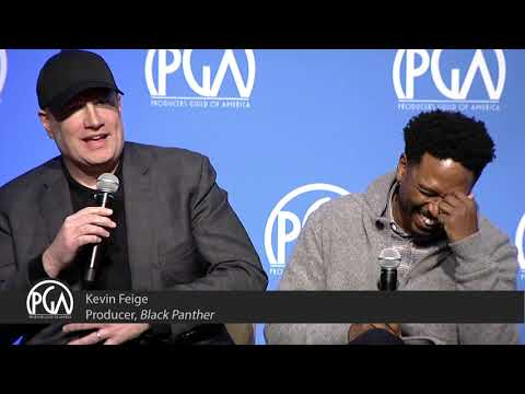 """writer-joe-robert-cole-and-producer-kevin-feige-discuss-the-creative-process-of-""""black-panther"""""""