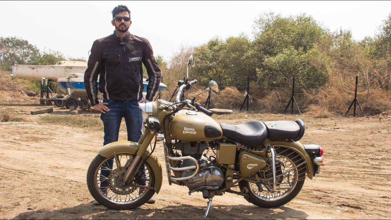 Royal Enfield Classic 500 Desert Storm Review Faisal Khan