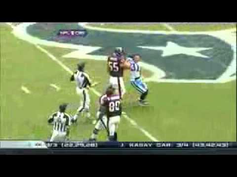 Andre Johnson and Cortland Finnegan Fight Texans vs. Titans[HD]