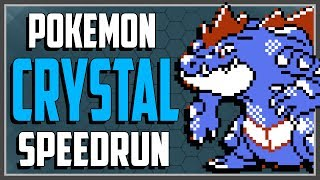 Pokemon Crystal SPEEDRUN in 5:07:45 (Run Starts at 10:45)