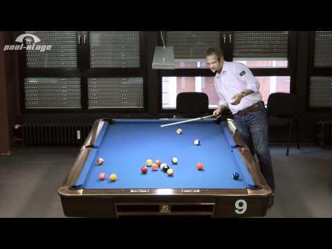 14/1-Break (deutsch), Ralph Eckert, Pool Billard Training