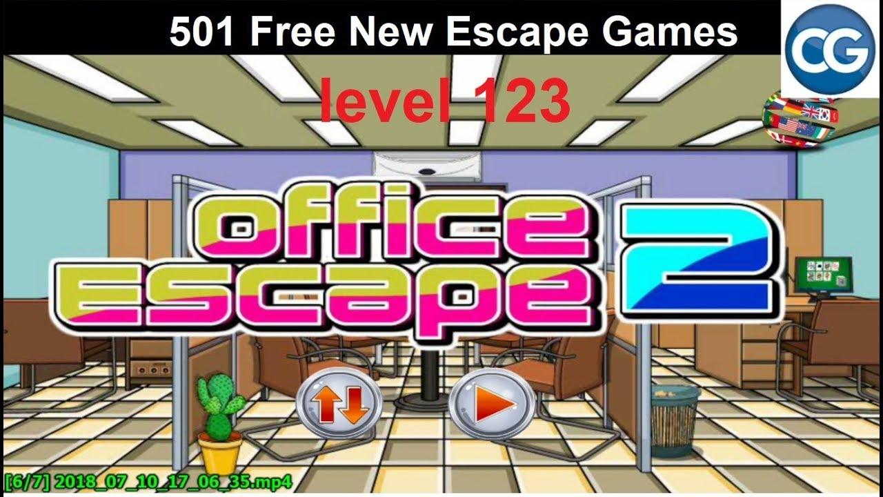Walkthrough] 501 Free New Escape Games level 123 - Office escape 2 ...