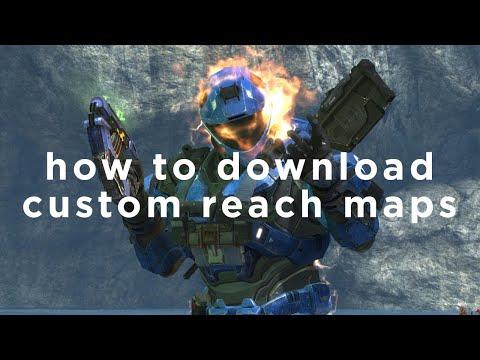 How To Download Classic Halo Reach Custom Maps Like Speed Halo On MCC