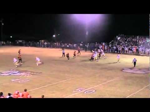 Dylan Clark Union County High School  Football Highlights
