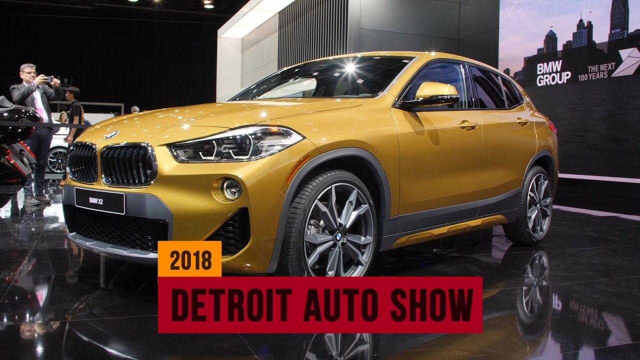2018 BMW X2: Bimmer's smallest SUV arrives in Detroit - Dauer: 85 Sekunden