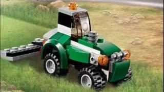 Lego tractor / Лего трактор