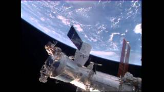 Let the Unloading Begin Aboard the ISS