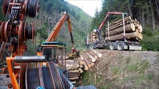 HP-Holz Windwurf im Mölltal