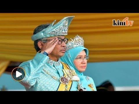 LIVE: Sultan Pahang angkat sumpah jawatan Yang di-Pertuan Agong ke-16 di Istana Negara