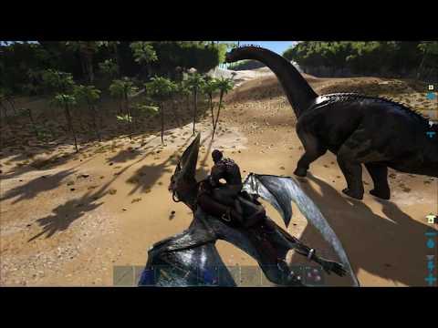 видео: ark: survival evolved (Одиночка) #12 - Минимальный овираптор и погоня за бронто
