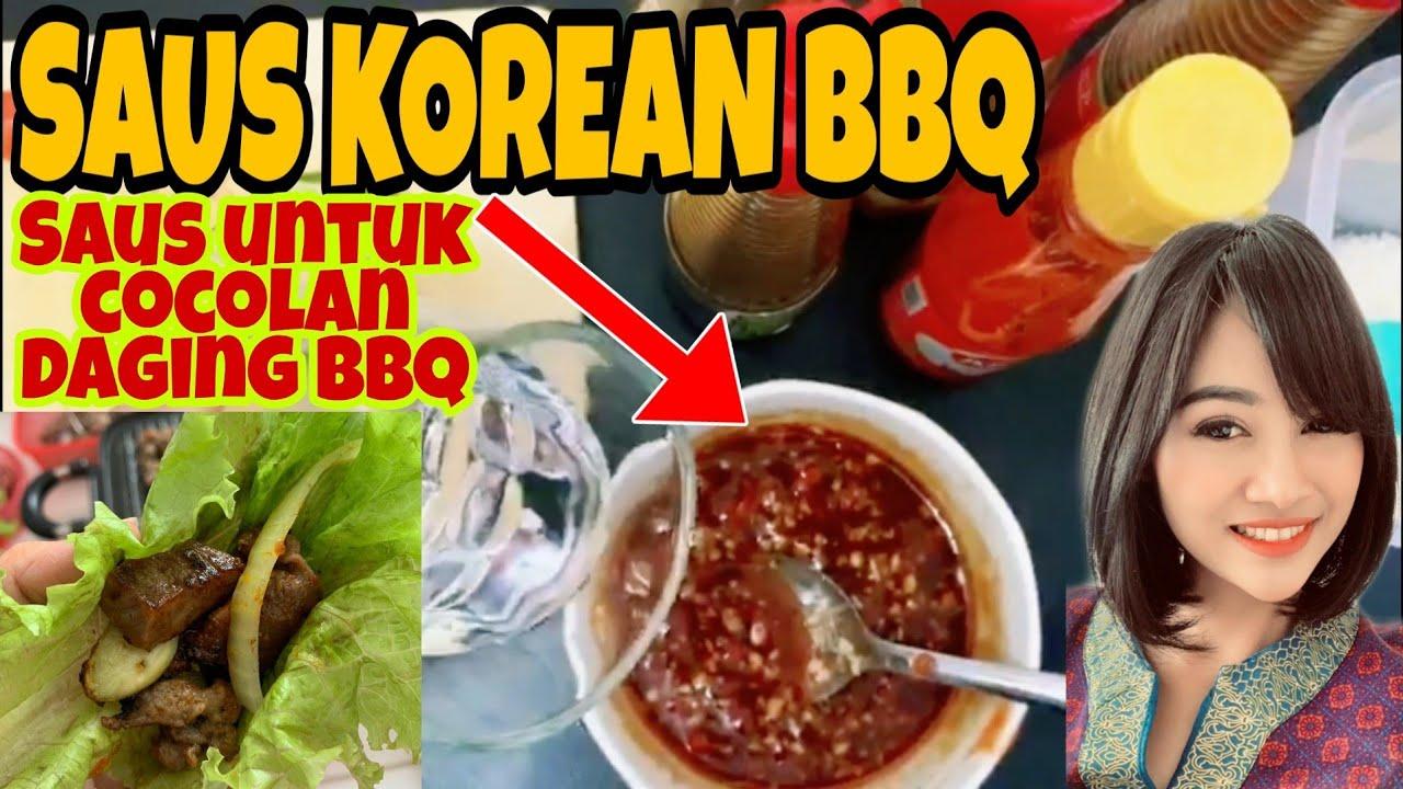 Resep Saus Bbq Korea Resep Saus Bulgogi Halal Youtube