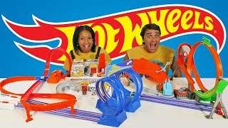Hot Wheels Super Track Toy Challenge  ! || Toy Review || Konas2002