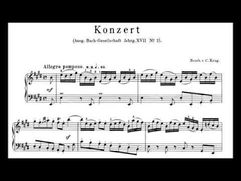 Bach: Keyboard Concerto No2 in E Perahia