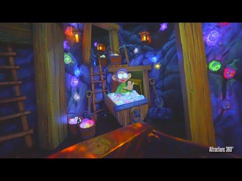 NEW! Updated Snow White Dark Ride | Disneyland 2021 | Enchanted Wish