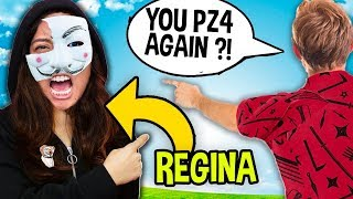 REGINA IS A HACKER AGAIN !? 😱 (SHE IS PZ4 AGAIN ?!) Chad Wild Clay & Regina Unmasked Project Zorgo
