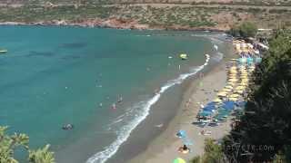 пляж Бали на Крите (Bali beach in Crete)(Бали (Μπαλί, Bali) - песчаный пляж, расположен в 30 км на восток от г. Ретимно на северном побережье острова Крит...., 2014-05-03T13:23:01.000Z)