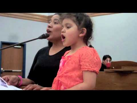 I Heard Him Come (duet) by 3 yr-old Christy and mom