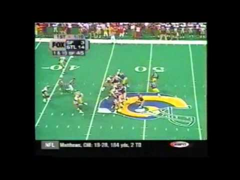 49ers AT Rams 1999 highlights