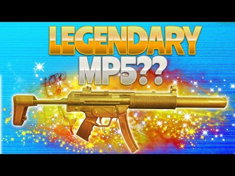 LEGENDARY MP5? (Fortnite Battle Royale)