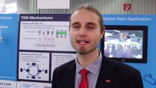 Interview with Florian Frick, ISW, about TSN real time networking technology, at SPS IPC Drives 2017