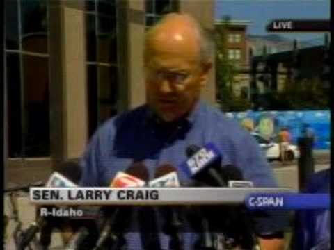 CSPAN - 070828 - Larry Craig Statement