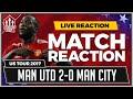 Manchester United 2-0 Manchester City | LUKAKU & RASHFORD Goals win it
