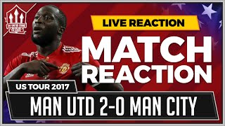 Manchester United 2-0 Manchester City | LUKAKU & RASHFORD Goals win it