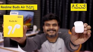 Realme Buds Air Review : Budget Airpods? ll in Telugu ll