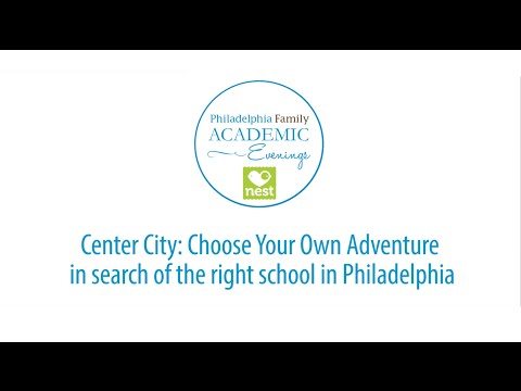 Philadelphia Family in Center City: Choose Your Own Adventure in search of the right school