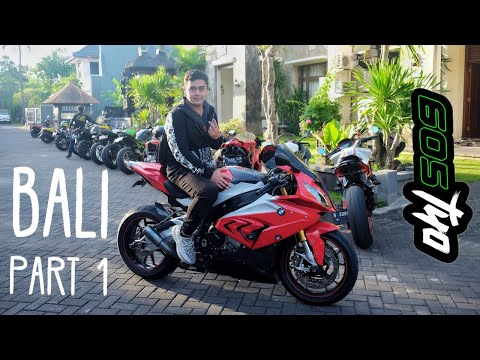 Riding + test bmw s1000rr di BALI with BB squad (PART 1)