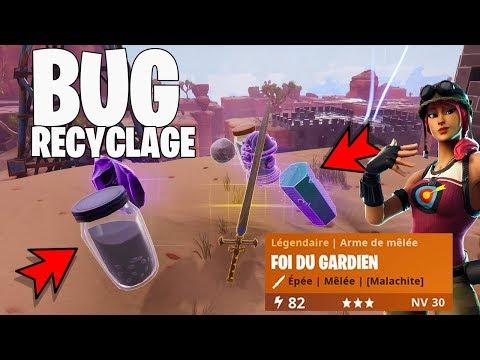 """mega-bug-du-recyclage-ÉpÉe-foi-du-gardien-fortnite-sauver-le-monde-""""-ps4/pc-720p-hd-fr"""