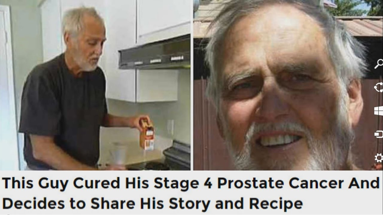 this guy cured his stage 4 prostate cancer and decides to share histhis guy cured his stage 4 prostate cancer and decides to share his story and recipe youtube