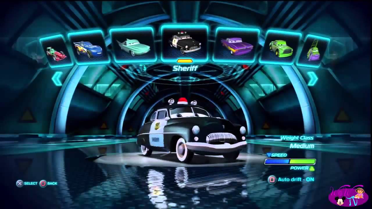 Cars Alive All Dlc Characters From Cars 2 Video Game Youtube