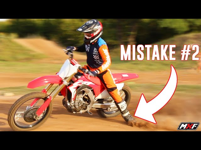 3 Dirt Bike Cornering Mistakes You Do Every Ride
