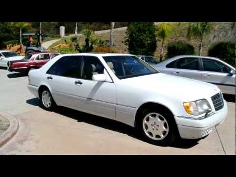 2 Owner 95 Mercedes Benz S500 W140 S-Class Sedan Luxury Classic For Sale