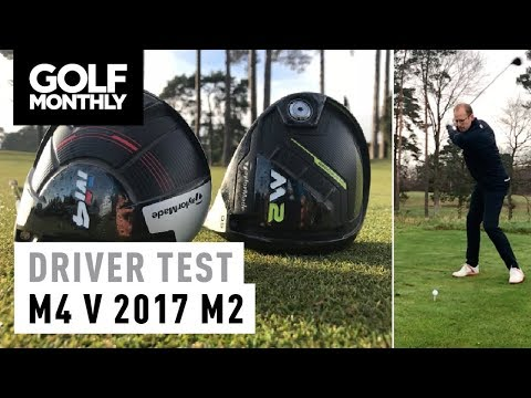 taylormade m4 vs 2017 m2 driver test golf monthly