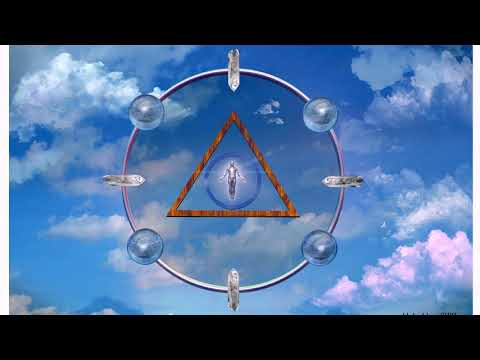 Cercle de prieres image emission , prior circle transmitting drawing