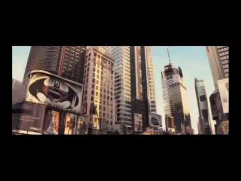 Superman Vs Batman Billboard In I Am Legend