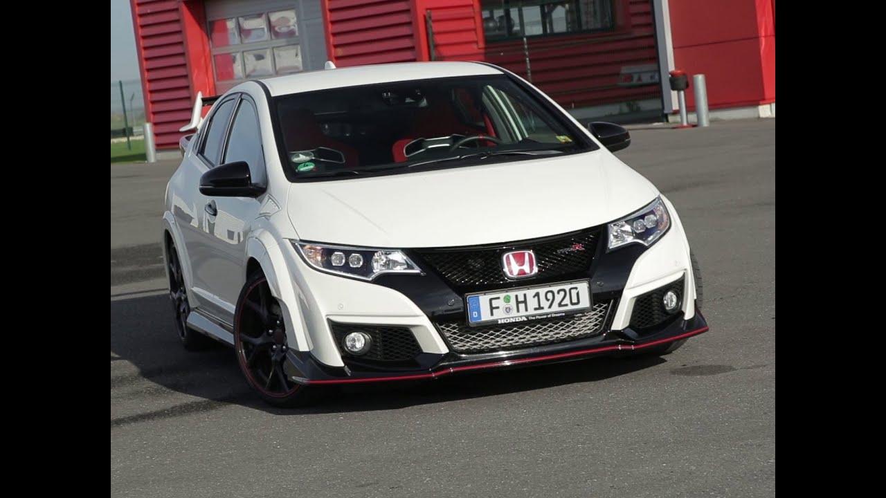 Essai Honda Civic Type R 2015 Youtube