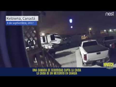 Caída De Meteorito En Canadá.
