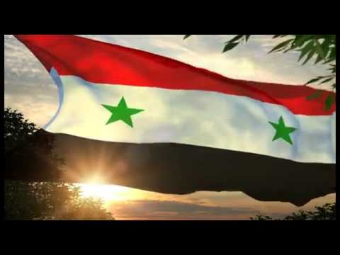 Syrian Flag And National Anthem YouTube - Syria flag