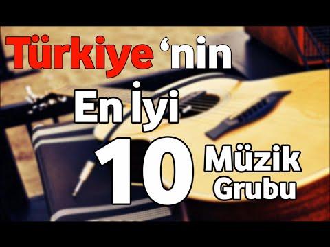 Türkiye'nin En İyi 10 Müzik Grubu!