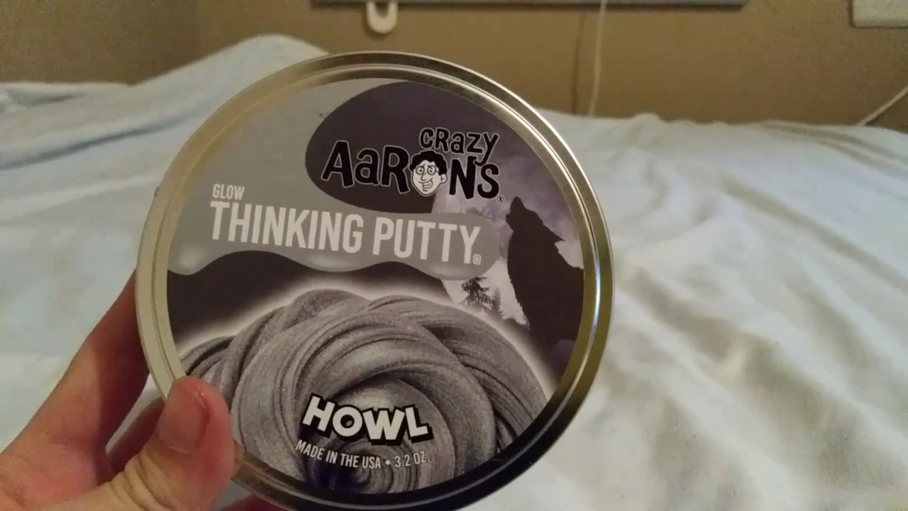 Crazy Aaron S Thinking Putty Howl