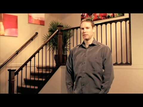 Simple do it yourself stair railing youtube solutioingenieria Choice Image