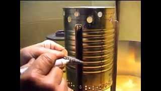 Repeat youtube video Tutorial stufa 2 kg piro-gas, insegnamento ,costruzione e misure
