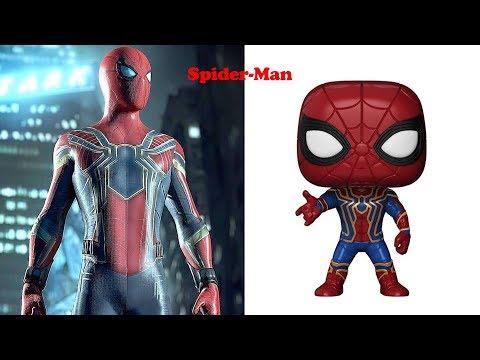 Marvel As Funko Pop   Funko Pop Marvel Series   Character