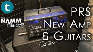 NAMM 2018 | PRS | New Mark Tremonti MT15 Amp | New Guitars | Demo with Paul Reed Smith
