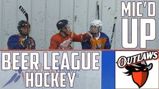 Beer League Hockey | Mic'd Up