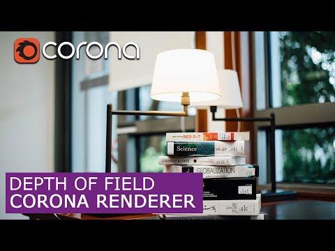 Depth Of Field (DOF) In Corona Renderer & 3Ds Max | Tutorials For Beginners ARCHVIZ